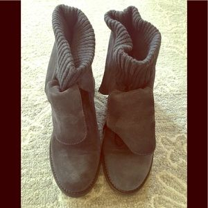 NWOT! Lace up boutique 9 booties.